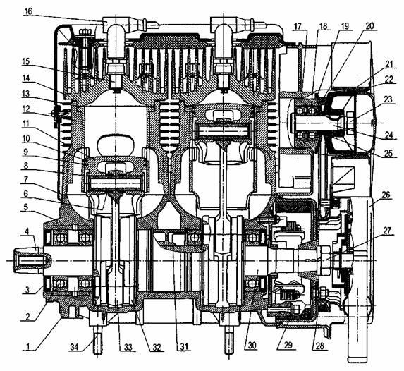 Рисунок 13 – Двигатель – 1
